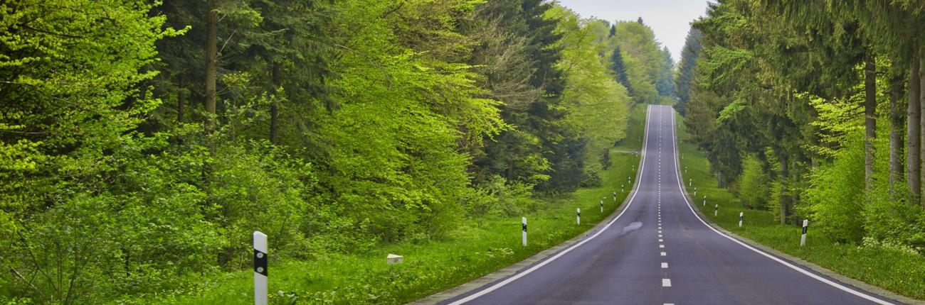 Conducir por carretera acompañado